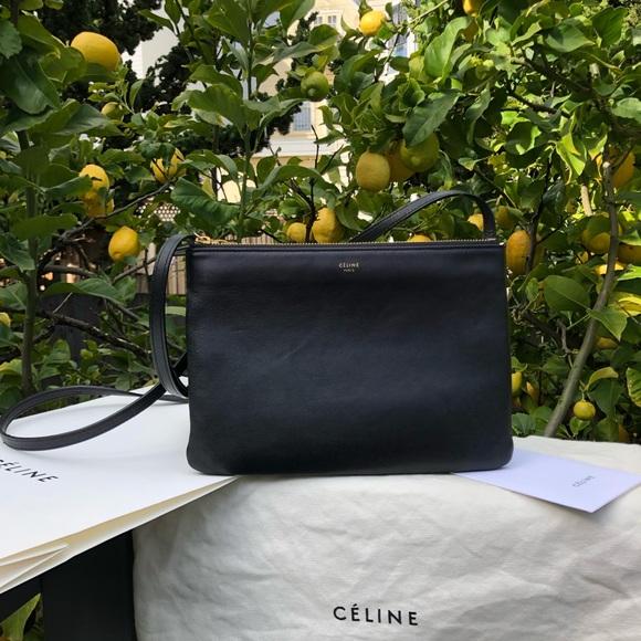 Celine Handbags - !!! SOLD !!! Celine Large Trio Crossbody